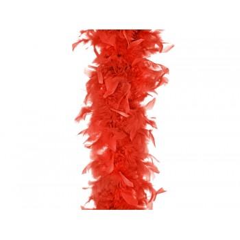 Szal Boa Czerwony 180cm