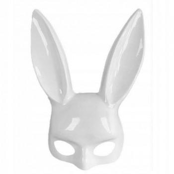 Maska króliczek playboy biały