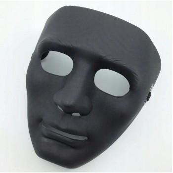 Maska czarna mroczna twarz
