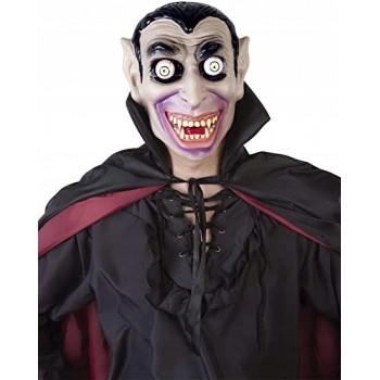 Maska Dracula - ruchome oczy Wampir
