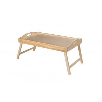Stolik śniadaniowy Tacka drewniana
