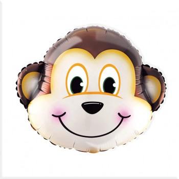 Balon foliowy Małpka 63x56cm
