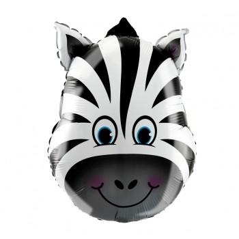 Balon foliowy Zebra 44x64cm
