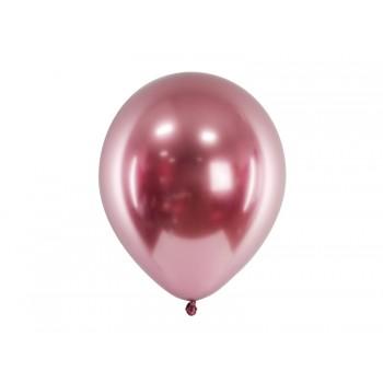Balon Glossy 5szt chrom metaliczny