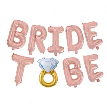 Zestaw balonów Bride to be