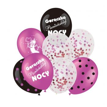 Zestaw na WIECZÓR PANIEŃSKI balony 8 szt