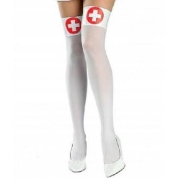 Pończochy Rajstopy pielęgniarki - PIELĘGNIARKA