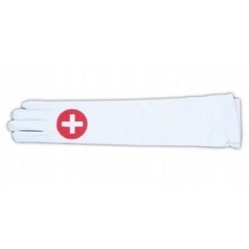 Rękawiczki pielęgniarki - PIELĘGNIARKA