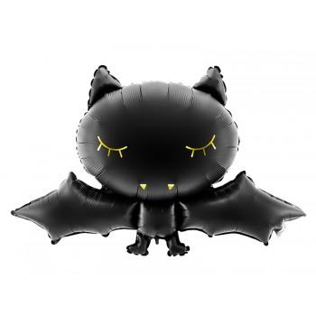 Balon NIETOPERZ czarny na Halloween 80x52cm