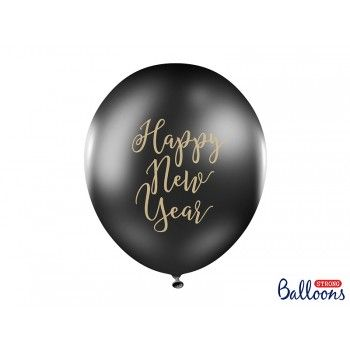 Balon Happy New Year na Sylwestra 1szt
