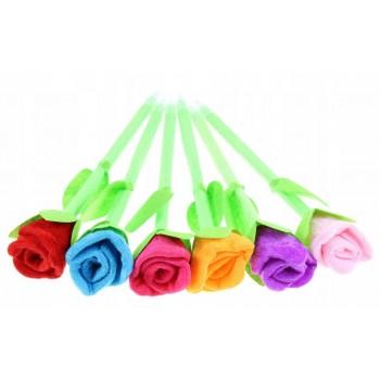 Długopis pluszowy TULIPAN kwiatek
