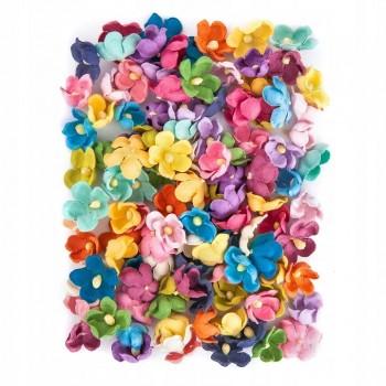 Kwiaty papierowe 60szt kwiatuszki