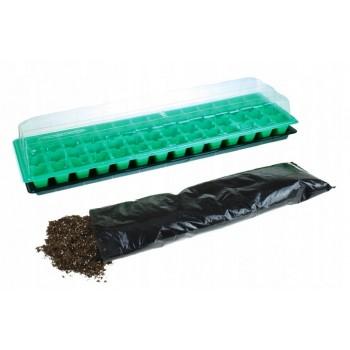 Miniszklarenka 14 komór szklarnia na sadzonki