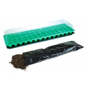 Miniszklarenka 56 komór szklarnia na sadzonki