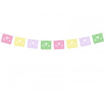 Girlanda papierowa Ażurowa Dia de Los Muertos 2m