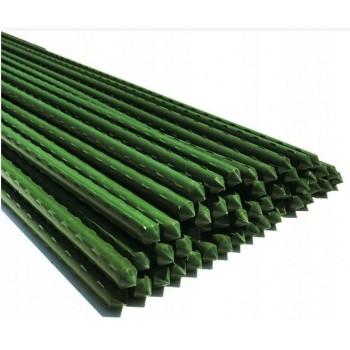 10x Tyczka 120cm Tyczki metalowe do roślin 16mm