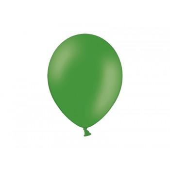 Balony 100szt Pastel Leaf Green 23cm ciemny zielony