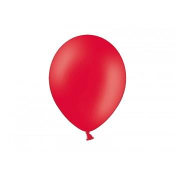 Balony 100szt Pastel Red 23cm czerwone