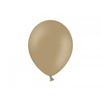 Balony 100szt Pastel Almond 23cm migdałowe jasny brąz