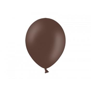 Balony 100szt Pastel Cocoa Brown 23cm brązowe