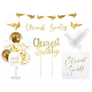 Zestaw CHRZEST ŚWIĘTY dekoracje