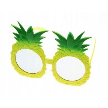 Okulary ANANASY hawajskie aloha