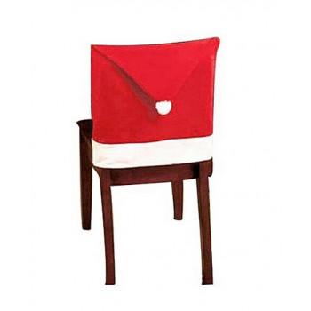Pokrowiec na krzesło - czapka Mikołaja