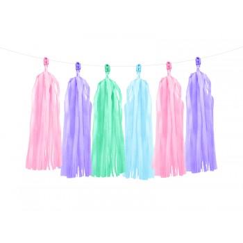 Girlanda mix kolorów Frędzle 1,5m