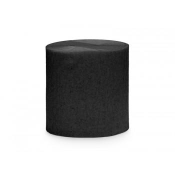 Krepa Bibuła Czarna 5cm/10m 4szt