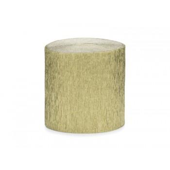 Krepa Bibuła złota 5cm/10m 4szt