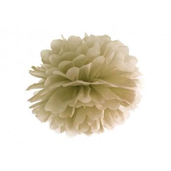 Pompon Bibułowy kolor złoty 25cm