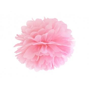 Pompon Bibułowy kolor j. różowy 35cm