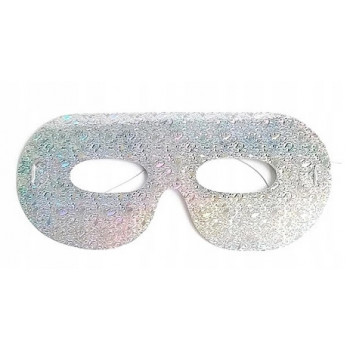 Maski holograficzne 144szt różne kolory