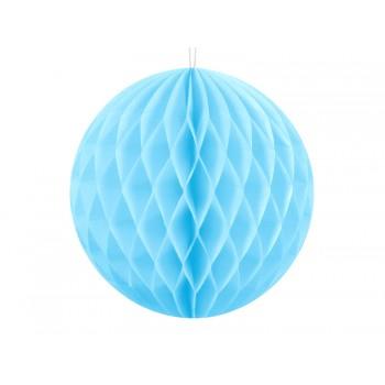 KULA bibułowa Honeycomby błękit