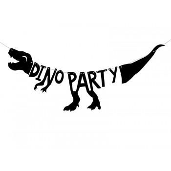 Baner Dino Party - Dinozaury 20x90 cm