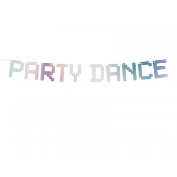 Baner 'Party Dance' Electric holo opalizujący 130cm