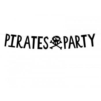 Baner 'Pirates Party' Piraci 14x100cm