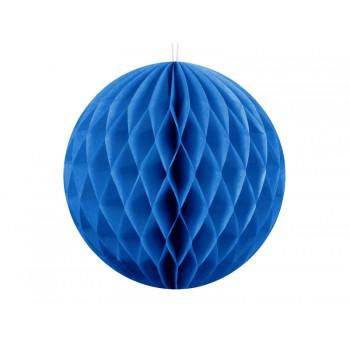 KULA bibułowa Honeycomby Niebieski
