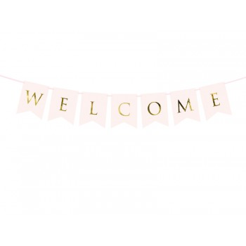 Baner 'Welcome' 15 x 95 cm