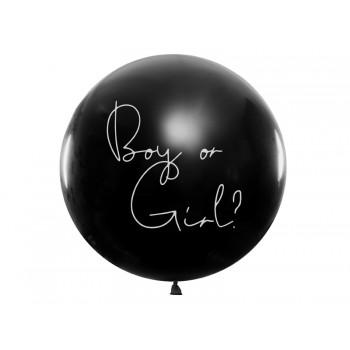 Balon 'Boy or Girl?' - Dziewczynka 1m