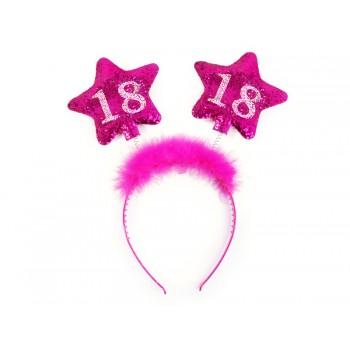 Opaska gwiazdki 18 urodziny