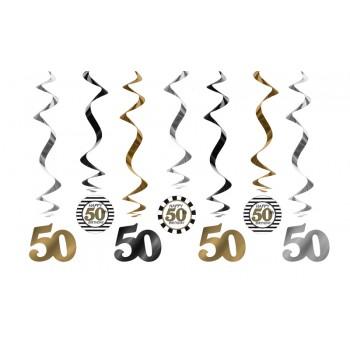 Świderki 50 urodziny - 60cm