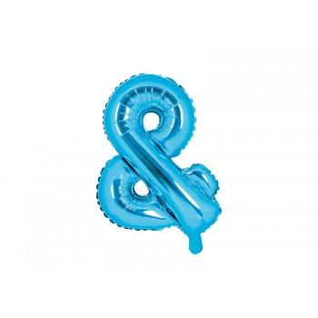 Balon foliowy niebieski 35cm &