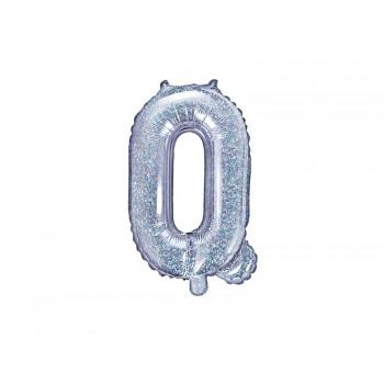 "Balon foliowy holograficzny 35cm litera ""Q"""