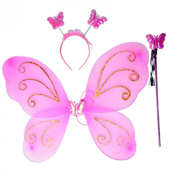 Zestaw motylka - różne wzory